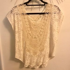 Jen's Pirate Booty lace top M